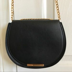 Cuyana Mini Chain Saddle Bag